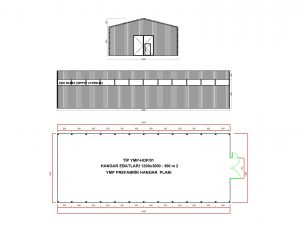 hangar-model